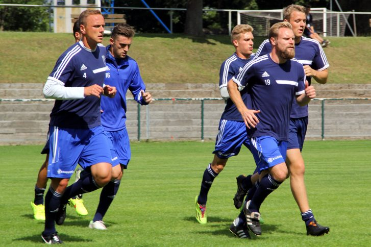 FC Carl Zeiss im Trainingslager in Zeulenroda