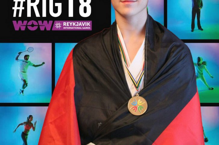 Lukas Aschoff bei den Reykjavik International Games in Island