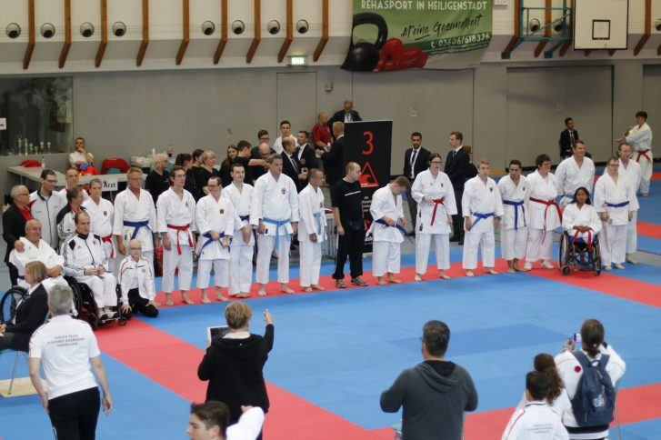 Deutsche Nationalmannschaft Para Karate