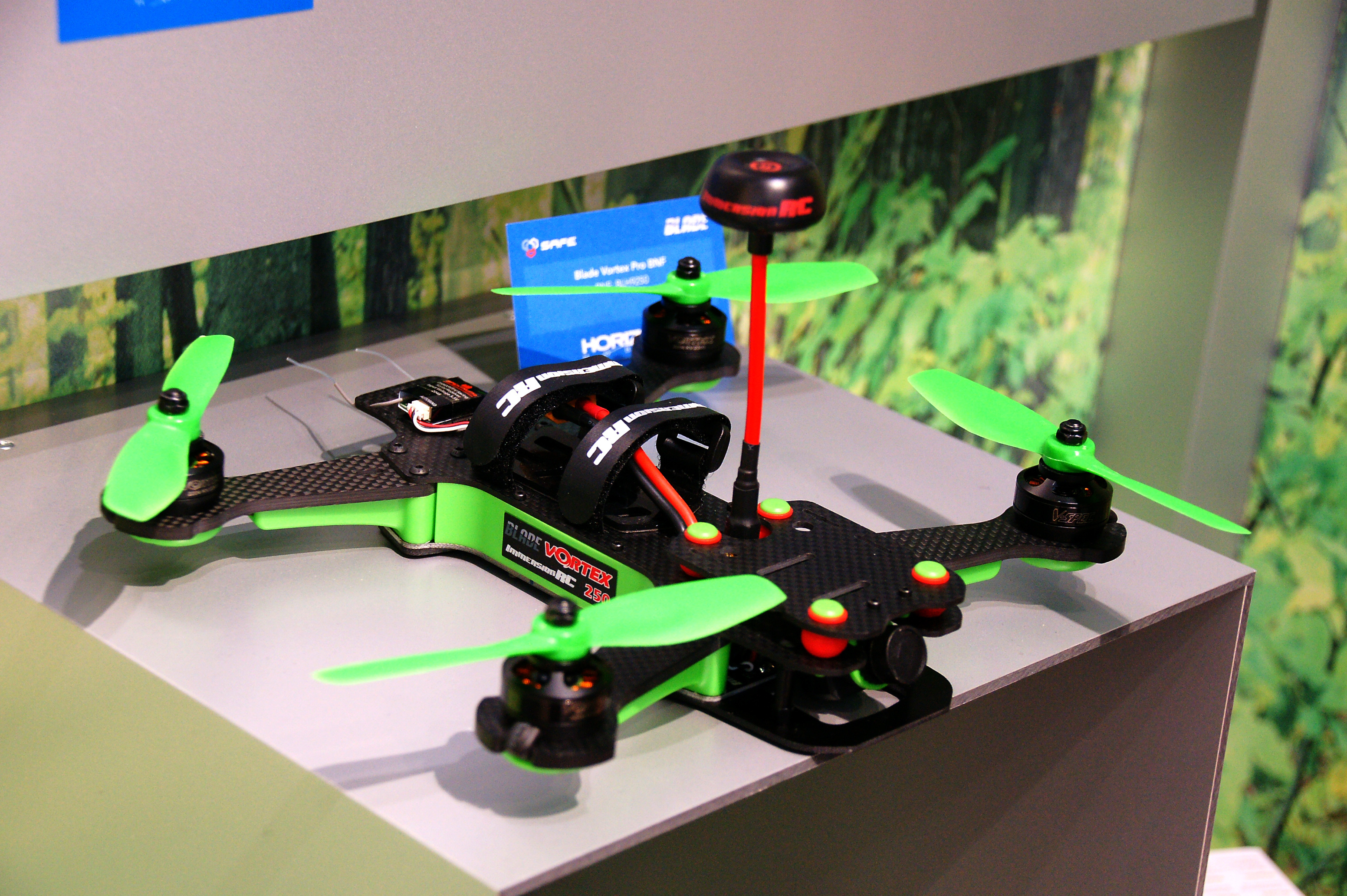 Der Blade Inductrix 200 FPV. Foto: Andreas Abendroth